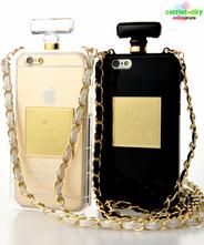 【メール便送料無料】香水型iPhone6/6s (4.7インチ) ケース [ブラック/プレス]