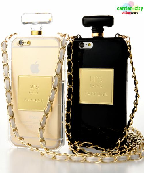 【メール便送料無料】香水型iPhone6/6s Plus(5.5インチ) ケース [クリア/プレス]