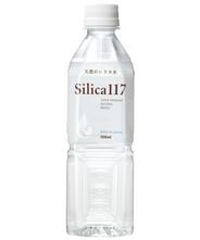 スーパープレミアム天然シリカ水「Silica117」 500ml×24本 【2箱以上で送料無料】