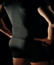 【着るだけパンプアップ!】【送料無料】 【運動や食事療法のサポートに、パジャマにも!】 パンプ半袖・メンズガードルセット