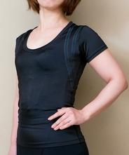 【着るエステ&パンプアップ!】【女性は美肌にも!】【送料無料!】 パンプ半袖