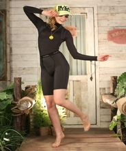 【着るエステ!】【運動や食事療法のサポートに、パジャマにも!】 【送料無料!】レディスガードル