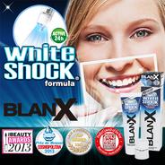 BLANX(ブランクス) WHITESHOCK(ホワイトショック) 単品92g + LED照射ユニット付 正規品