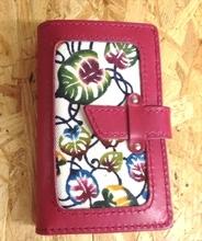 紅型スマホCASE NoteBook 【red】【Iphone5/5S/5C各種】【ハンドメイド】