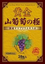 【送料・代引手数料無料】 黄金 山葡萄の極 7日分 28粒
