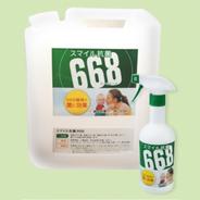 スマイル抗菌668 お得!大容量4L+500mlスプレーボトル付|今話題! 様々な場所・用途で使える万能除菌・抗菌スプレー