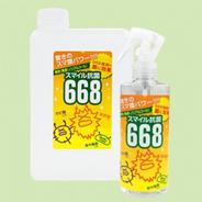 スマイル抗菌668 1L詰め替え用+200mlスプレーボトル付