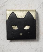 CHIGRACCI Ture-tette「猫財布」ゴールド