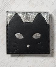 CHIGRACCI Ture-tette「猫財布」シルバー