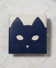 CHIGRACCI Ture-tette「猫財布」グレー