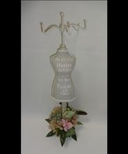 【プレゼント】【ギフト】【記念日】【誕生日】トルソー&プリザーブ・ド・フラワー