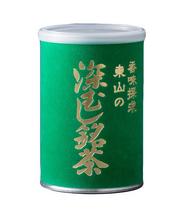 掛川茶/高級煎茶/東山 深むし銘茶(緑缶)