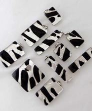 Piastra 14 Silver-Black