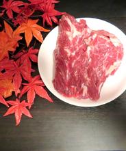 【北海道産】エゾ鹿肉 ネック500g【無添加】