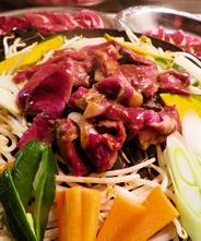 【北海道産】エゾ鹿肉 ジンギスカン【ロース】