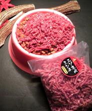 【北海道産】エゾ鹿肉ペット用ミンチ肉【無添加】