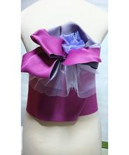 帯 仕立て 紫