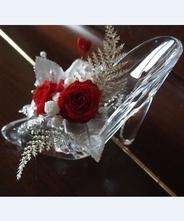 【バレンタインデー】【ホワイトデー】【インテリア】【フラワー】【 フラワーアレンジメント】 シンデレラ