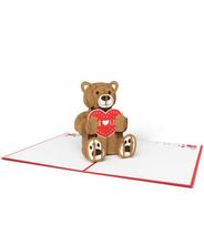 3DポップアップカードI LOVEPOP<<Love Bear>>