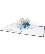 3DポップアップカードI LOVEPOP<<Release the Kraken>>