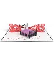 3DポップアップカードI LOVEPOP <<Love Bed>>