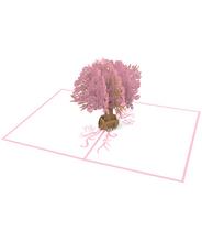 3DポップアップカードI LOVEPOP<<Magnolia Tree>>
