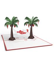 3DポップアップカードI LOVEPOP<<Santa Hammock>>