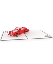 3DポップアップカードI LOVEPOP<<Robert's Sports Car>>