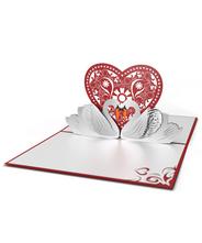 3DポップアップカードI LOVEPOP<<Swans>>