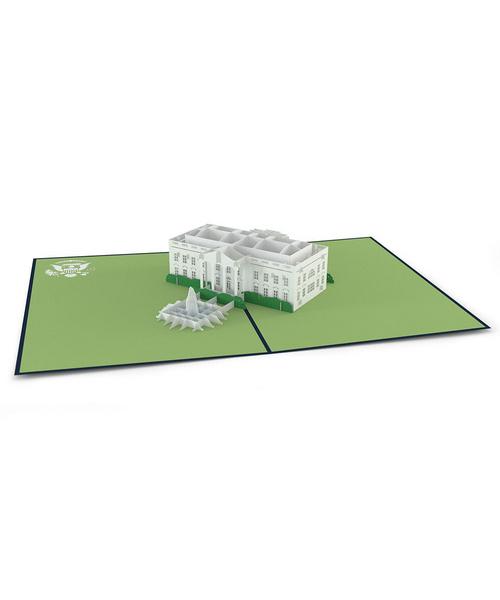 3DポップアップカードI LOVEPOP<<White House>>