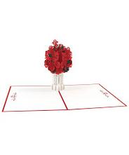 3DポップアップカードI LOVEPOP<<Rose Bouquet>>