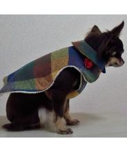 犬服ハンドメイド!お散歩コート