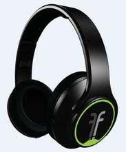 アンプスピーカーにもなるFlips Audioヘッドホン(ブラック)
