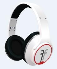 アンプスピーカーにもなるFlips Audioヘッドホン(ホワイト)