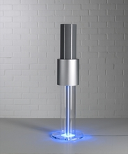 【発がん物質PM2.5対応】イオン式空気清浄機「ライトエア イオンフロー50(Style)」