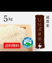 減農薬ひらぶき米 5kg
