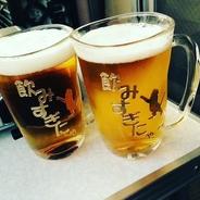 ビールはやっぱり 猫 ねこ ジョッキ