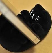 黒猫 スマホスタンド(送料込み)