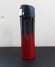 山中塗り ステンレスボトル (2トーン 黒×赤)260ml