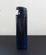 山中塗り ステンレスボトル (2トーン 黒×紺)260ml