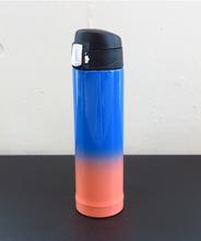 山中塗り ステンレスボトル (2トーン 青×オレンジ)260ml