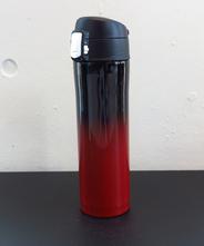 山中塗り ステンレスボトル (2トーン 黒×赤)450ml