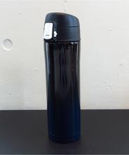 山中塗り ステンレスボトル (2トーン 黒×紺)450ml