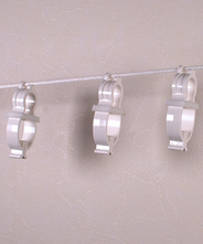 洗濯クリップロープ 自在具と洗濯クリップStrong10個セット