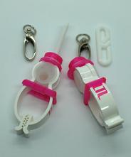 TLTLハンカチクリップ 2個セット(帽子 ピンク)