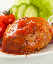 トマト煮込みハンバーグ(豆腐入り) 3個セット