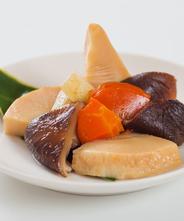 国産竹の子と野菜の炊き合わせ 3個セット
