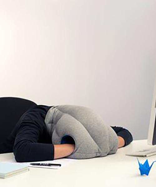 オーストリッチピロー オリジナル OSTRICH PILLOW ORIGINAL トラベルピロー ネックピロー 昼寝枕 ダチョウ枕