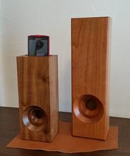 木製スマホスピーカー(W100×D80×H350)