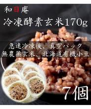 【無農薬】冷凍 酵素玄米 トレーごはん170g×7個